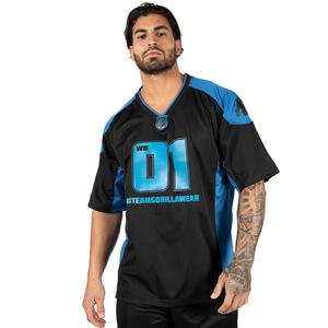 Athlete T-Shirt 2.0 (William Bonac), navy/black, Gorilla Wear