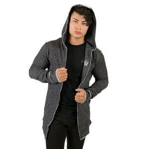 Bolder Sweat Jacket, black, Gorilla Wear