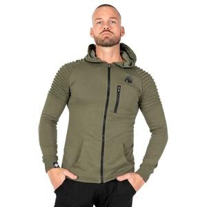 Delta Hoodie, army green, Gorilla Wear