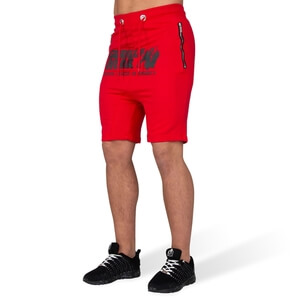 Kolla in Alabama Drop Crotch Shorts, red, Gorilla Wear hos SportGymButiken.se