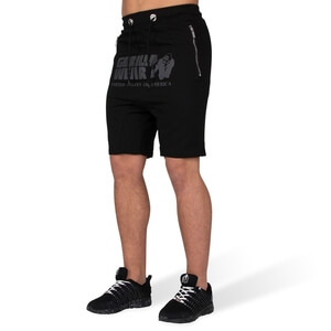 Alabama Drop Crotch Shorts, black, Gorilla Wear