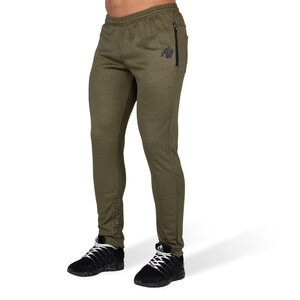 Kolla in Bridgeport Joggers, army green, Gorilla Wear hos SportGymButiken.se