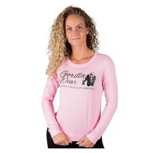 Riviera Sweatshirt, light pink, Gorilla Wear