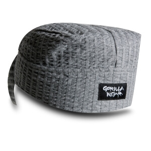 Seersucker Work Out Cap, grey, Gorilla Wear | SportGymButiken.se