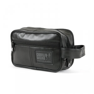 Kolla in Toiletry Bag, black, Gorilla Wear hos SportGymButiken.se