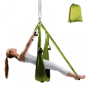 Yogaswing Antigravity, grön, inSPORTline