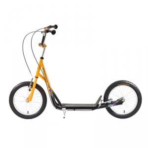 Sparkcykel Scooter City, gul/svart, Worker