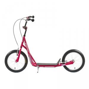 Sparkcykel Scooter City, röd, Worker