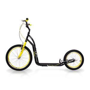 Sparkcykel Disparo, black/yellow, insPORTline