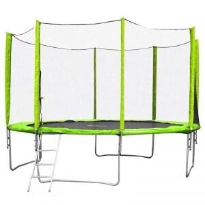Studsmatta med säkerhetsnät Froggy Pro, 430 cm, inSPORTline