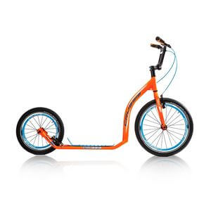 Sparkcykel Active 4.2, orange/blue, Crussis
