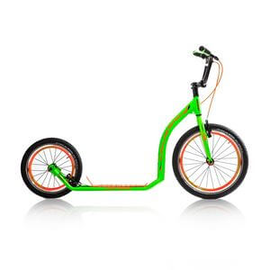 Sparkcykel Active 4.3, green/orange, Crussis
