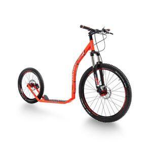 Sparkcykel Cross 6.1, orange, Crussis