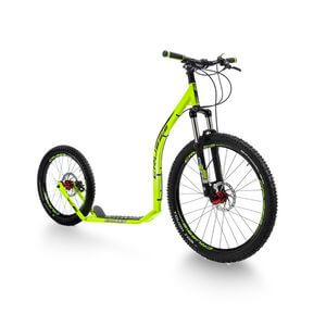 Sparkcykel Cross 6.2, lime/green, Crussis