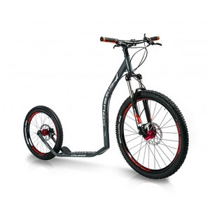 Sparkcykel Cross 6.3, anthracite, Crussis