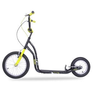 Sparkcykel Suter SE, black/yellow, inSPORTline