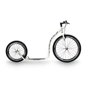 Sparkcykel Urban 4.1, white/black, Crussis