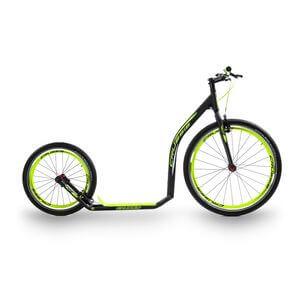 Sparkcykel Urban 4.2, black/yellow, Crussis