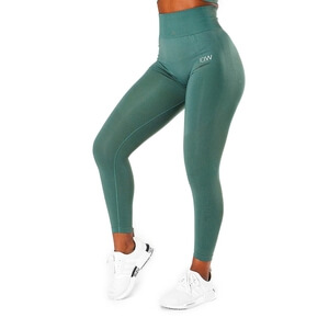 Define Seamless Tights, jungle green, ICANIWILL i gruppen Kläder / Dam / Byxor / Träningstights hos Sportgymbutiken.se (IW-10219-051r)