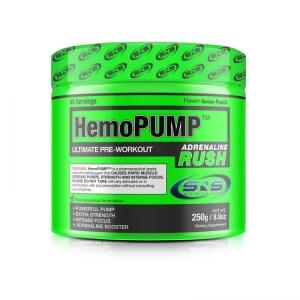 HemoPump Adrenaline Rush, 250 g, SNS Biotech