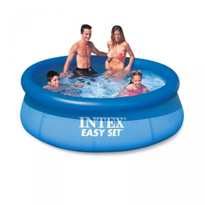 k p easy set pool 244 x 76 cm intex online hos. Black Bedroom Furniture Sets. Home Design Ideas