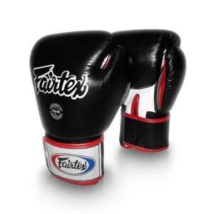 Boxhandske BGV 1, black/white/red, Fairtex