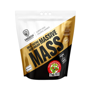 Massive Mass, 7 kg, Swedish Supplements i gruppen Hälsa / Kosttillskott / Gainer hos Sportgymbutiken.se (OL-9419r)