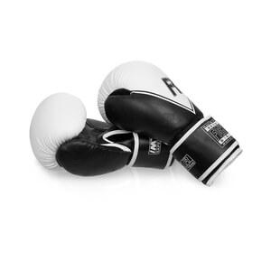 Boxhandske Inception Junior, svart/vit, Fighter