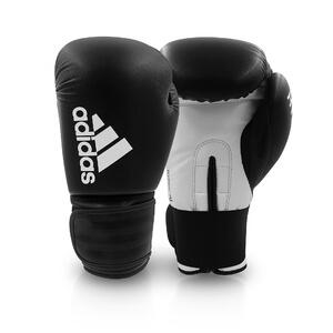 Boxhandske Hybrid 50, black/white, Adidas