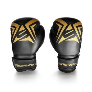 Boxhandske Gold Junior, black/gold, SportMe