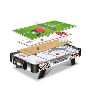 Bordsspel 4 Games in 1, SportMe