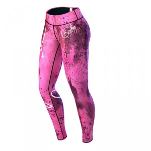Pink Mechanic Tights, pink/black, Anarchy