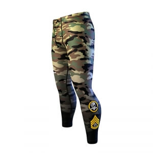 Woodland Mens Compression Tights, camo/black, Anarchy i gruppen Kläder / Herr / Byxor / Träningstights hos Sportgymbutiken.se (TN-116450-318r)