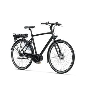 Elcykel Stratos E-go Herr 2019, mattsvart, Batavus