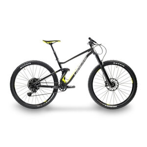 Mountainbike Zesty AM 4.0 Herr 2020, svart, Lapierre