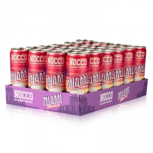 NOCCO Limited Edition Miami Strawberry, 24 x 330 ml