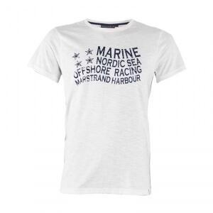 T-Shirt, offwhite, Marine
