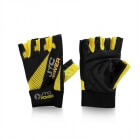 Gym Gloves, black/yellow, JTC Power