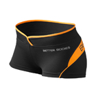 Shaped Hotpant, black/orange, Better Bodies