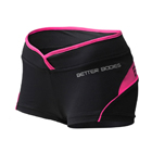 Shaped Hotpant, black/pink, Better Bodies