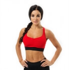 Athlete Short Top, scarlet red, Better Bodies