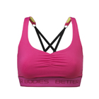 Athlete Short Top, hot pink, Better Bodies