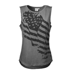 Women's Street Tank, smoke grey, Better Bodies