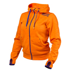 Womans Athletic Hood, bright orange, Better Bodies