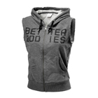 Athletic S/L Hood, antracite melange, Better Bodies
