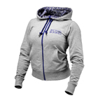 Soft Logo Hoodie, grey melange, Better Bodies