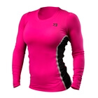 Performance Shape Long Sleeve, hot pink, Better Bodies