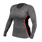 Performance Shape Long Sleeve, antracite melange, Better Bodies