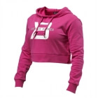 Cropped Hoodie, hot pink, Better Bodies