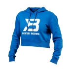 Cropped Hoodie, bright blue, Better Bodies